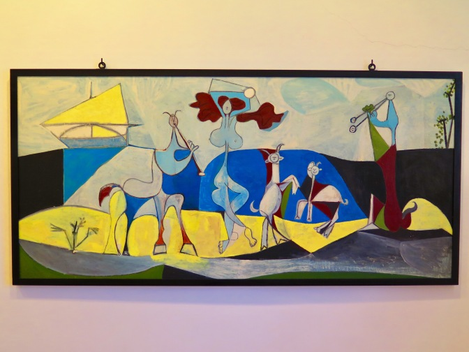 Picasso and Cap d'Antibes