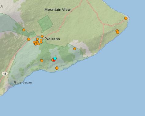 few quakes