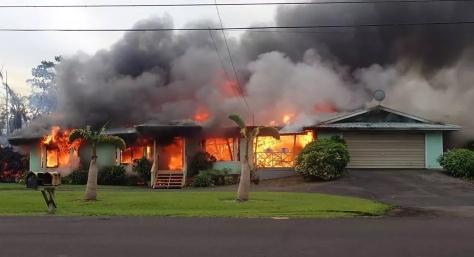 lava burnign house 2