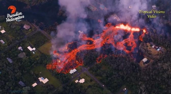 USGS: Raised potential for explosive eruptions