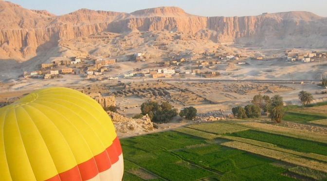 Up, Up, and Away Over The Storied Nile